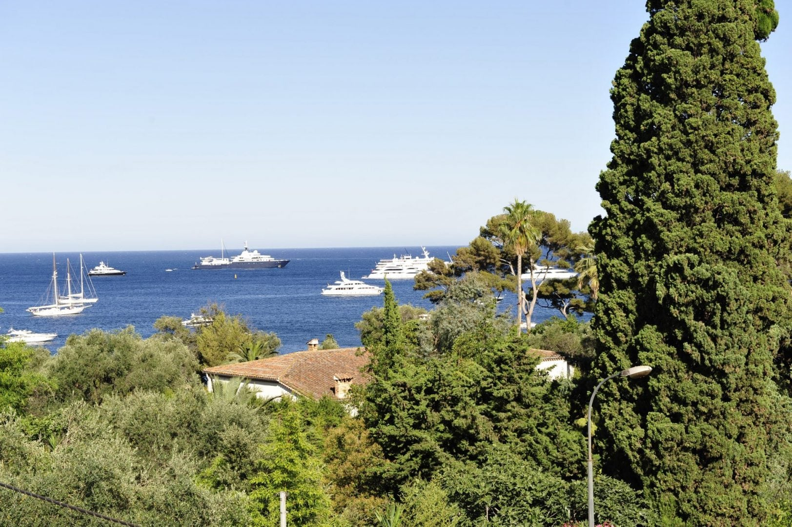 Luxury villa, sleeps 10, St. Jean Cap Ferrat, beach, two private pools