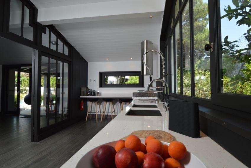 Kitchen looking West