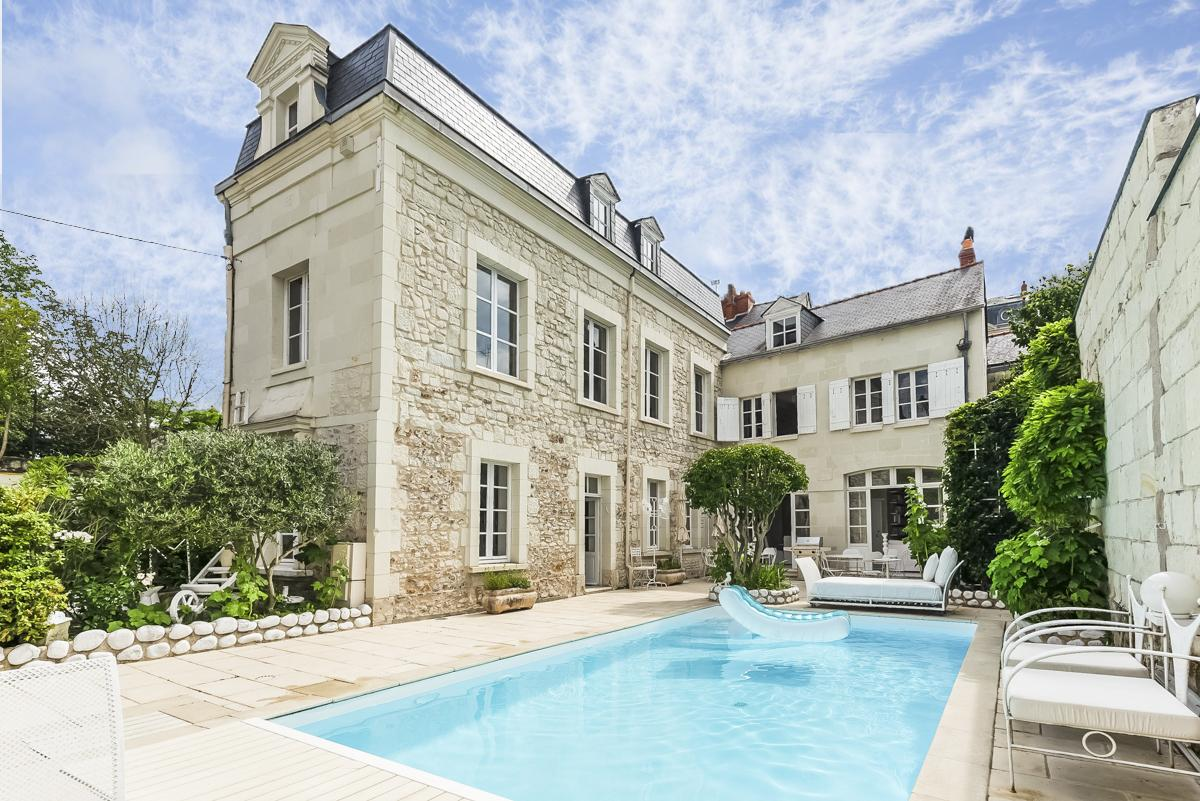 Maison de Maître, Saumur, Loire Valley