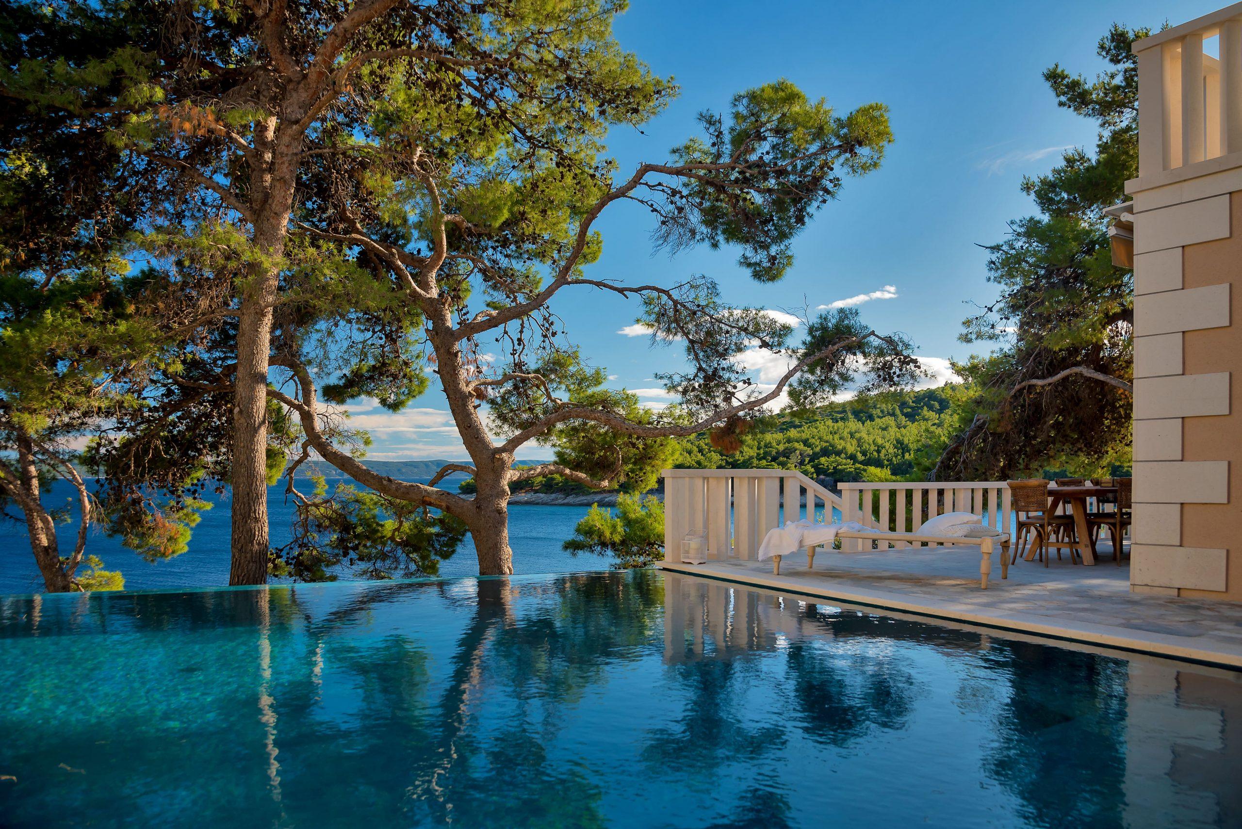 Villa Brac, Island of Brac, Croatia