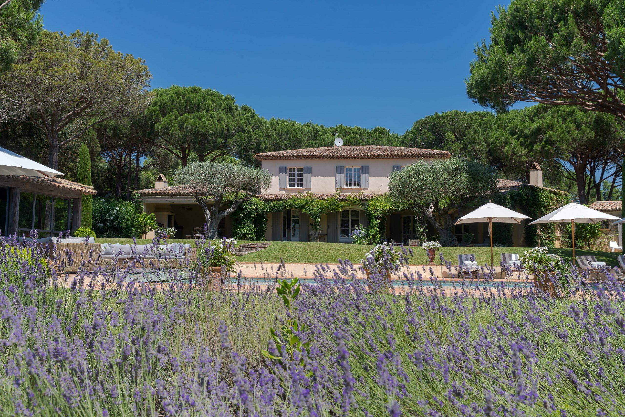 Villa Agapanthus, St Tropez